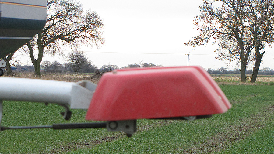 tractor-mounted Isaria crop sensor