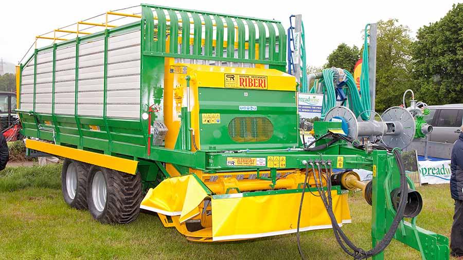 Riberi RS100 mower