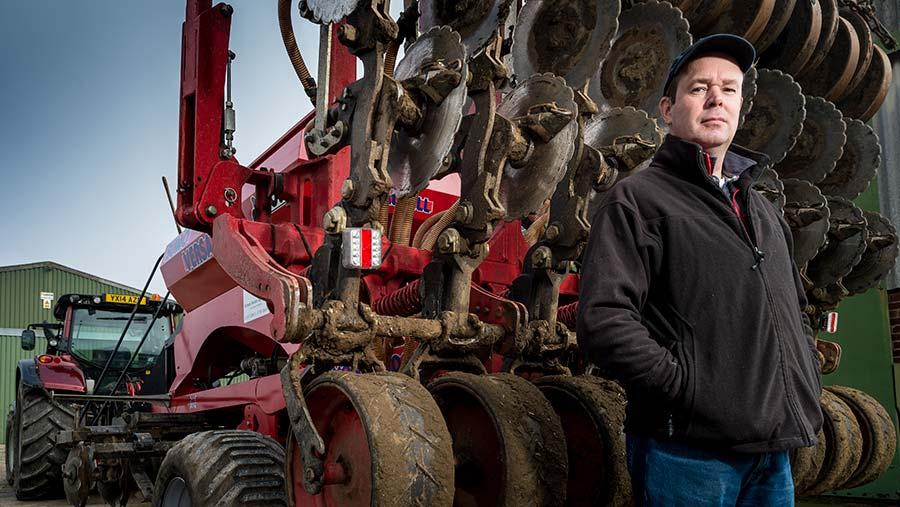 No-till grower Richard Boldan