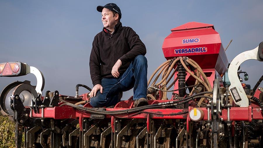 No-till grower Richard Boldan © Jim Varney