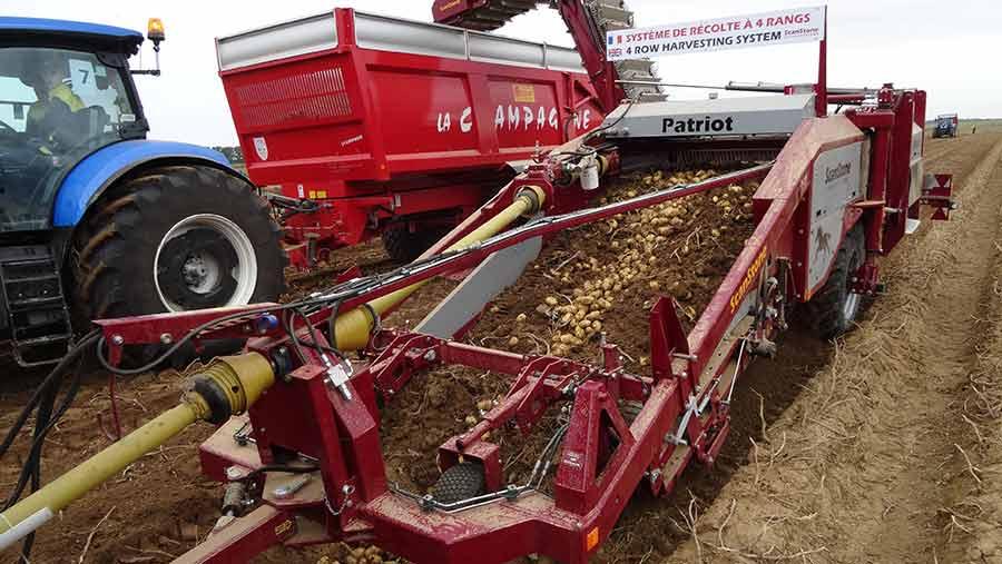 Scanstone-potato-harvester