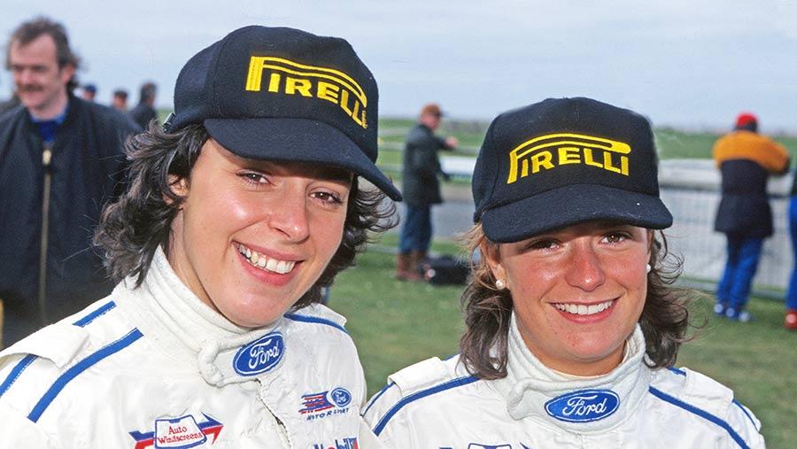 Stephanie and Rachael