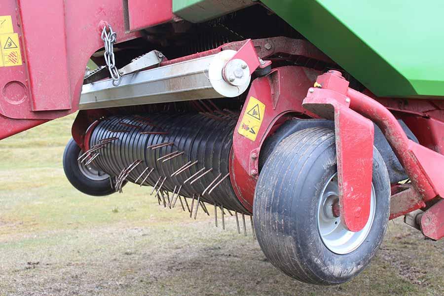 The mower on the Strautmann Super Vitesse