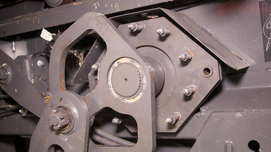 Stuffer brake assembly