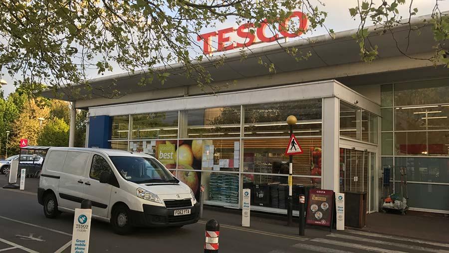 Tesco at Bury St Edmunds