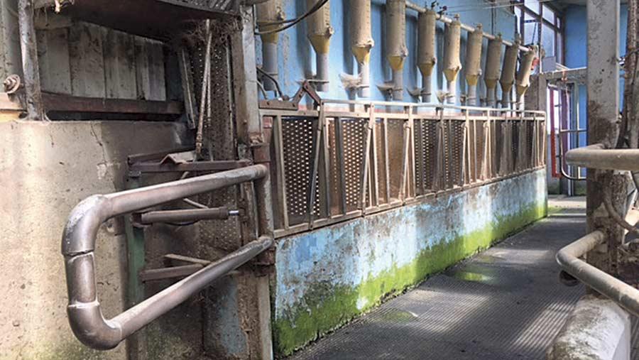 Thomas Faith's hydraulic cattle gates