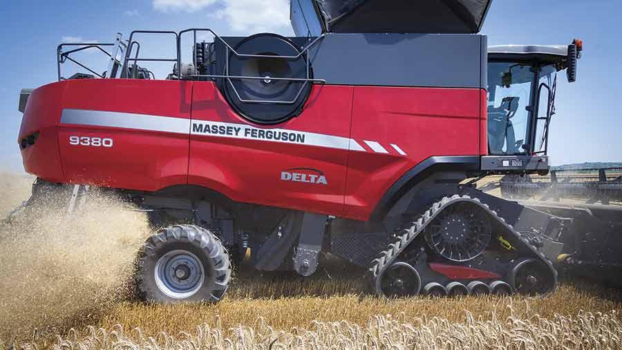 Tracked-massey-combine