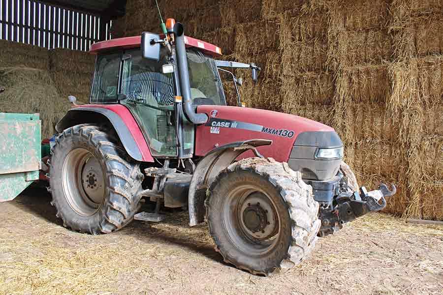 Case MXM130 tractor