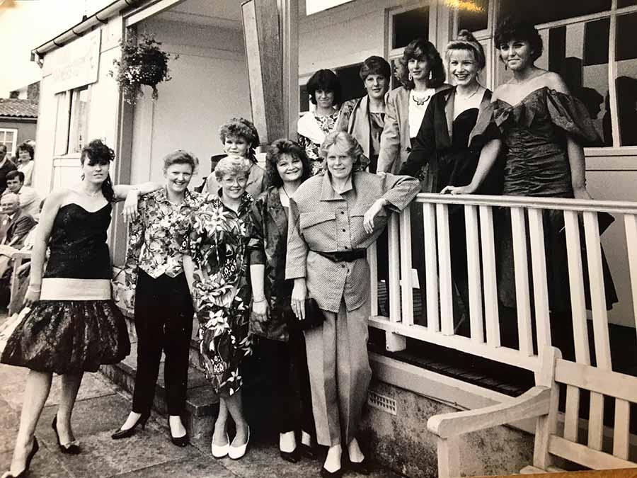 YFC fashion parade in 1987