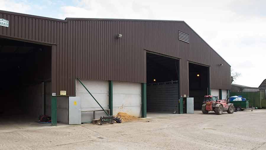 grain storage sheds