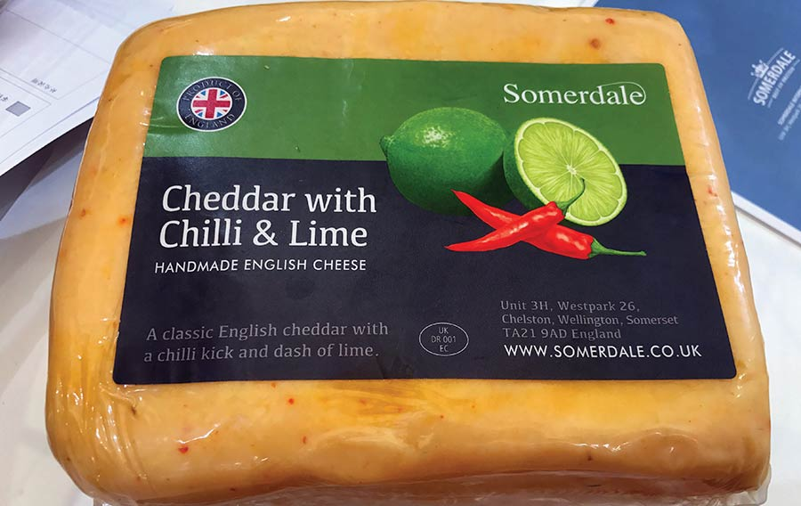 Somerdale chili and lime cheddar
