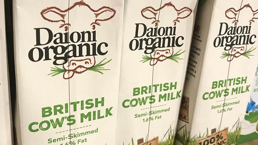Daioni milk