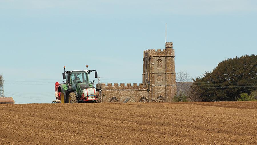Potato planting at Dillington Estates © Adam Clake/RBI