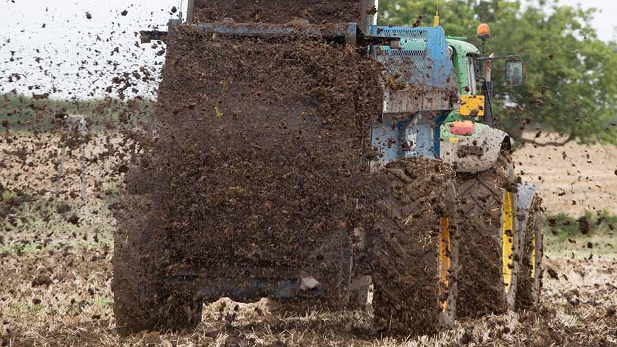 project1 spreading farm manure c Tim Scrivener