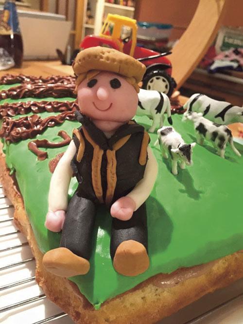 Farmer cake by Rosy Louis