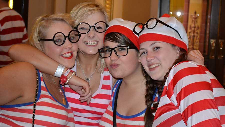 Where's Wally? NFYFC