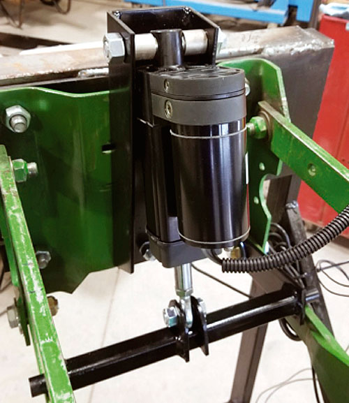 Graham Equipment electronic depth control