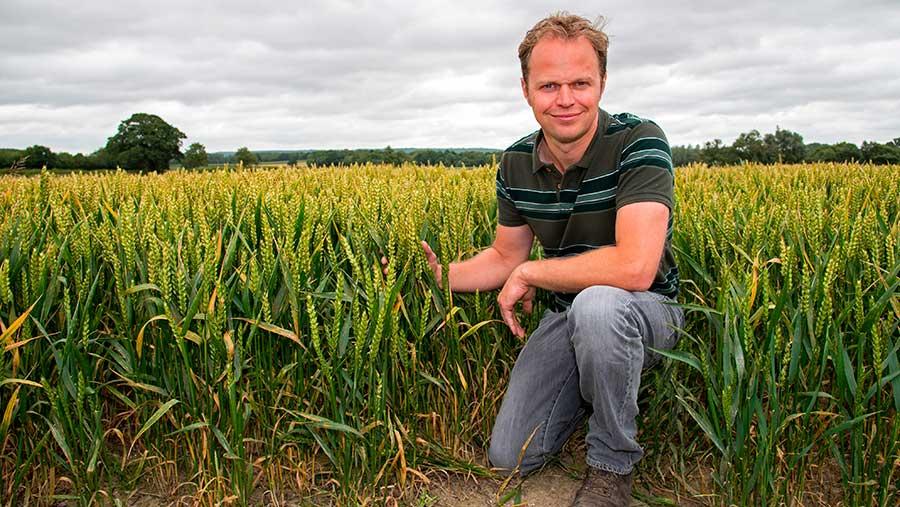 Farmer Andrew Howard