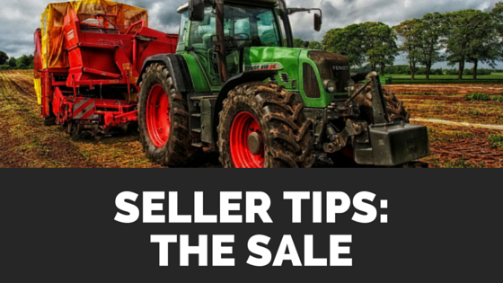 Sellers Tips: The Sale
