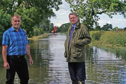 peter kendall looks at floods