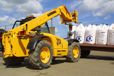 Forklift with Kemira - 2