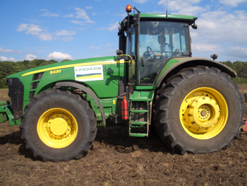 John-Deere 8430s are favoured