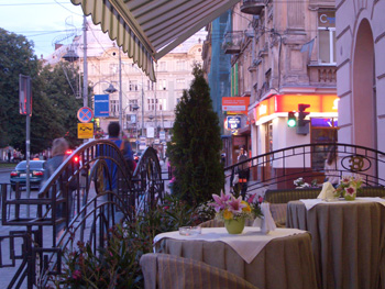 Café culture is alive and well in Lviv