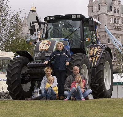 Valtra Tractor competition