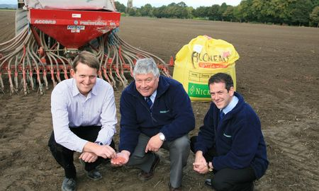 John Pearson prize winner with Nickerson Direct