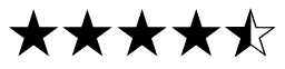 Four-and-a-half stars