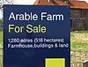 Arable farm for sale
