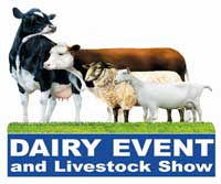 dairy event and livestock show 2009 logo