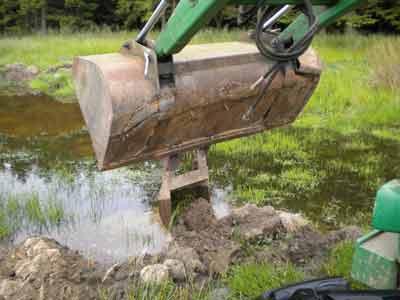 trench bucket
