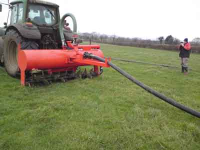 spiked slurry injector