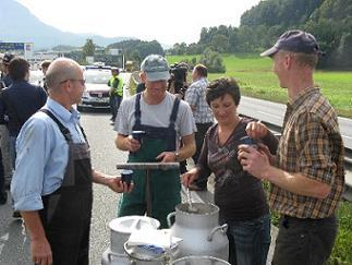 milk demo austria