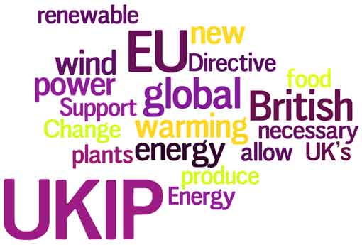 UKIP wordle