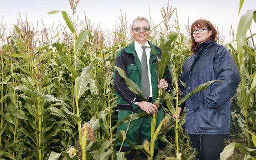 Ewan Bates and Sharon Hughes