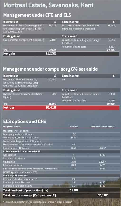 CFE table