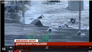 bbc japan tsunami