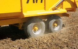 Super single tyres