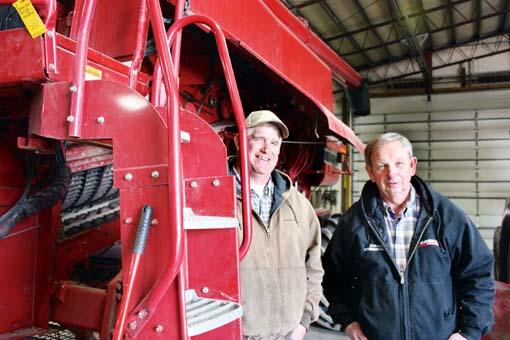 Chris Short (left) + Dennis Swenson