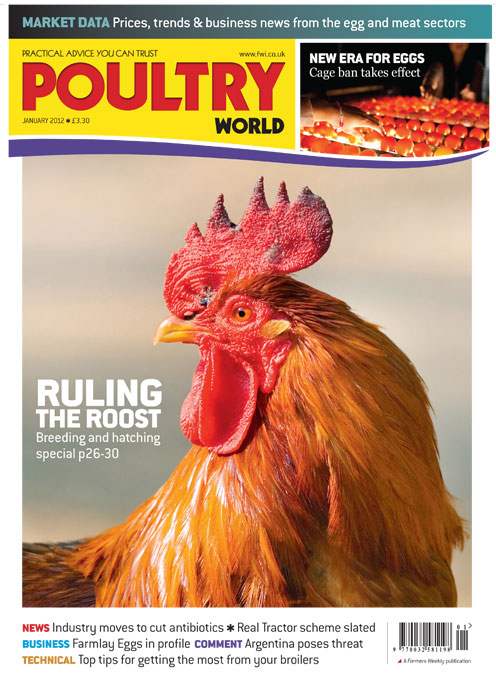 Poultry World Cover January