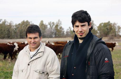 Andre Werthein and Fabian Castro