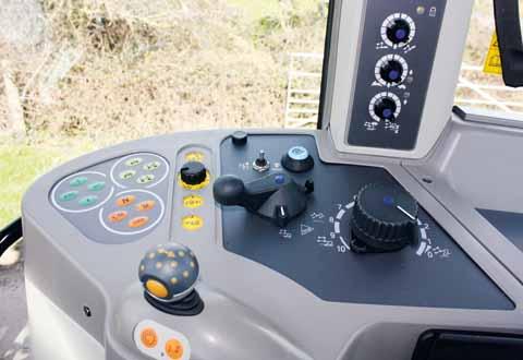 Fendt 312 controls