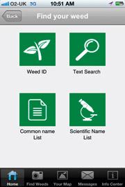 BASF weed app