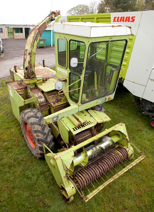 Claas forager