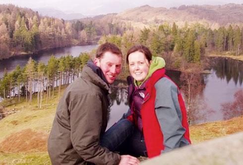 Ian Sedgwick and Glenys Fothergill
