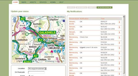Tracplot web portal
