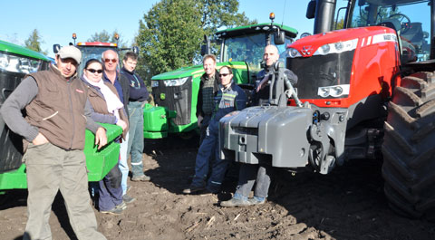 tractor test team
