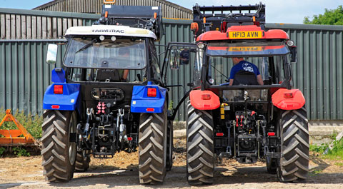 Zetor Major and Farmtrac 685